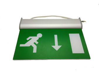 Rechargeable Battery Operated Double Sided Exit Signs LED Emergency Light