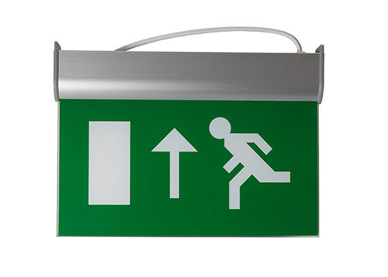 Chiny Running Man Graphics Exit Sign With Emergency Lights, 3 godziny pracy fabryka