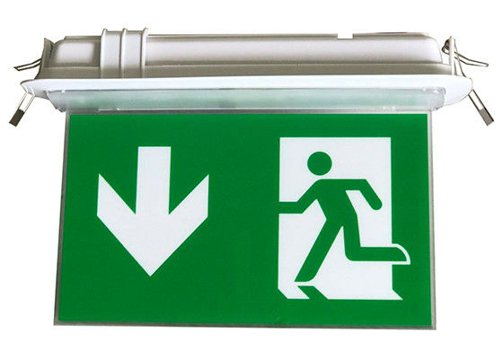 Rechargeable LED Double-Side Emergency Signage Exit na baterie