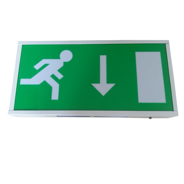 Akumulatory Led Exit Signs / IP20 Running Man Escape Sign Certyfikat CE